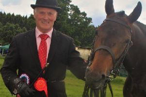ISA Qualifier in  Three-Year-old All Ireland Championship was Desmond Gibson and Spindoctor