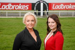 Ladbrokes has been unveiled as the new sponsor of Down Royals November Festival of Racing in a three-year partnership