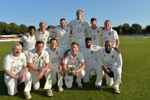 Kibworth, pictured after their 2015 success, retained the County Cup last weekend