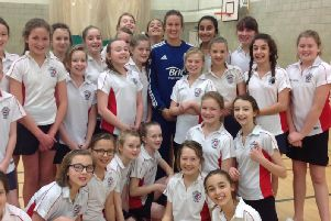 Former England star Lydia Greenway will be bringing coaching sessions to Market Harborough
