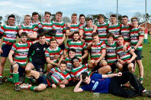 Lutterworth have made it to the last eight of the National Colts Cup. Pictures courtesy of Chris Shore