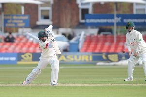 Lewis Hill has been named in a 14-man Leicestershire squad. Picture courtesy of Neville Chadwick Photography