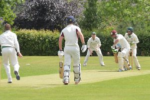 Kevin Innes made a half-century in Market Harboroughs win over Lutterworth