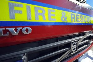 Fire services were called to the scene.