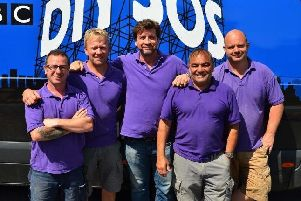 The DIY SOS team