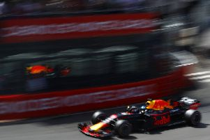 Daniel Ricciardo has been on form in Monaco.