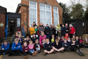 Parents and children say they will be devastated if Great Creaton Primary School closes