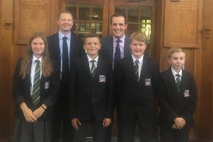 Harborough's MP gets quizzed during school visit