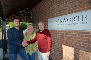 One of the new owners Damien Loach with Rose Thomas who is staying on as manager and Barry Burnham former owner.'PICTURE: ANDREW CARPENTER