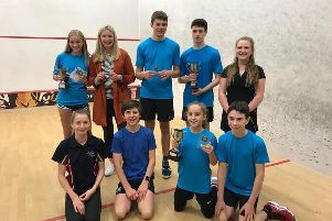 Market Harborough Squash Clubs young stars