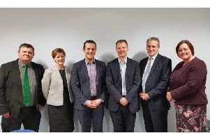 The headteachers, MP and Secretary of State for Education