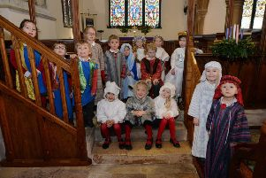 Children of Tugby C of E Primary School during their nativity.'PICTURE: ANDREW CARPENTER NNL-181218-123837005