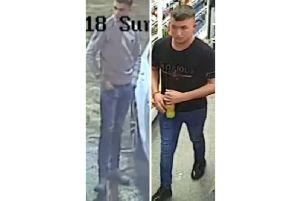 The CCTV images released by police