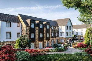 The proposed care home