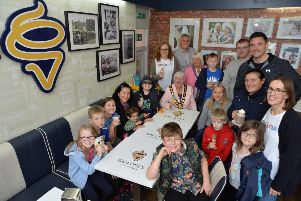 The chairman's charity Spectrum organised a charity event at Gallones ice cream parlour in Market Harborough.'PICTURE: ANDREW CARPENTER