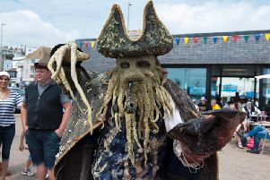 Hastings Pirate Day 2016. Photo by Frank Copper.
