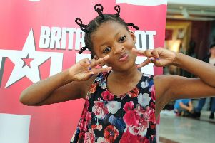 10-year-old rapper Tawana Matiza. Photo by Priory Meadow