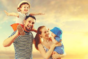 Signs of success include being happy... and having well-behaved kids