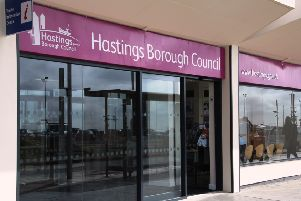 Hastings Borough Council may increase its share of council tax by 2.04 per cent SUS-161019-163304001