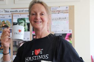 Hastings Borough Council deputy Kim Forward praised the council's corporate plan. Photo courtesy of the council SUS-170203-153952001