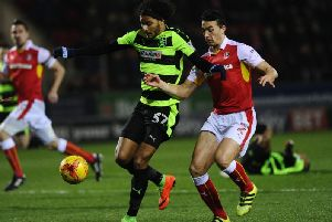 New Brighton & Hove Albion loan signing Izzy Brown
