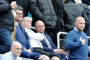Newcastle chairman Mike Ashley. Picture by Johnston Press