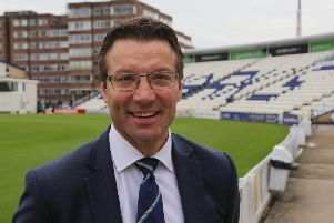 Sussex chief executive Rob Andrew.