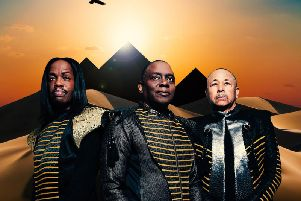 The elemental Earth, Wind and Fire