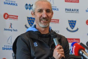Jason Gillespie has taken his team to Leicestershire / Picture by PW Sporting Photography