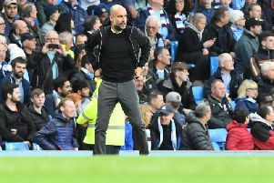 Manchester City boss Pep Guardiola. Picture by PW Sporting Photography