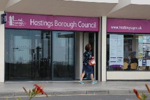 Hastings Borough Council is run from Muriel Matters House