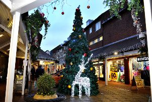 Christmas lights switch ons in Battle, Bexhill, Brighton, Eastbourne, Hailsham, Hastings, Rye, Seaford and Westfield