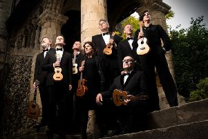 The Ukuelele Orchestra of Great Britain
