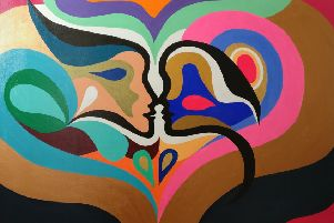 The Kiss by Tina Kaul