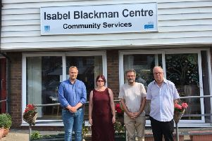 Cllrs James Bacon, Dany Louise, Peter Chowney and Trevor Webb SUS-181121-095256001