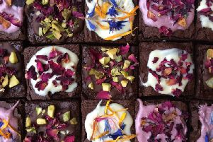 A selection of brownies