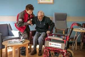 Red Cross assisted discharge service