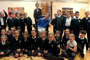 Toby Hewson at Walberton and Binsted Primary School