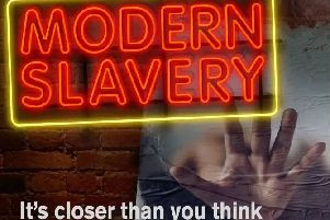 Police want your help in stamping out modern slavery