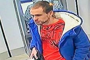 30-year-old Richard Alexander, pictured at Preston railway station on January 16. Picture: Sussex Police