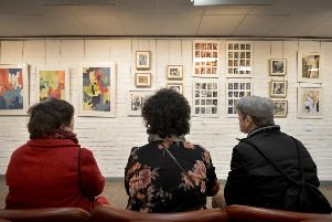 Art exhibition by Elaine Short and Jess Levine at The Stables Art Gallery
