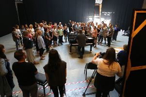 Agreed rehearsals at Glyndebourne. Picture by Sam Stephenson