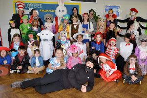 World Book Day at St. Leonards CEP Academy SUS-190703-145355001