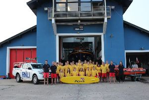 RNLI lifeguards. Photo courtesy of the RNLI.