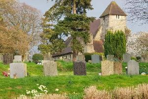 The church in Westfield. Photo: Sussex Police Heritage