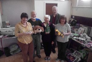 Members of Calvert Methodist Church prepare for their fundraising Jumble Sale SUS-190904-094842001