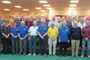 Rotarians from Senlac, Battle, Bexhill and Hastings who took part in the bowling challenge in memory of the late Stuart Earl.. SUS-191004-121717001