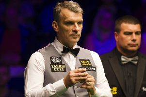 Mark Davis has qualified for the Betfred World Snooker Championship. Picture courtesy World Snooker
