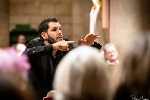 Hastings Philharmonic's peformance of Messiah photographed by Peter Mould SUS-181211-102710001