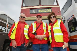 27th Hastings Bus Rally on the Stade Open Space. SUS-190519-121047001